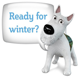 The Ready Scotland Winter logo