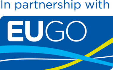 An image of the EUGO logo