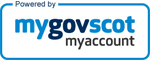 logo for MyGov.Scot's My Account